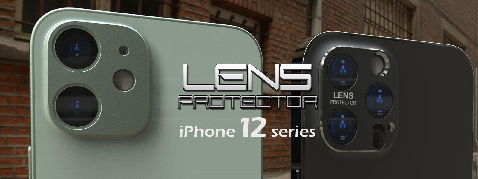 カメラレンズプロテクターiPhone12